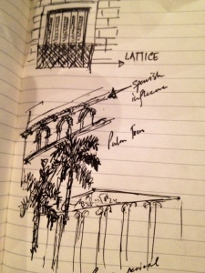 Buenos Aires Architecture Sketch