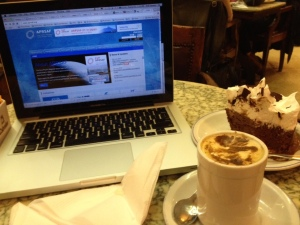 Awesome Mousse Cake at Cafe Tortoni