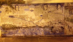 History in graffiti
