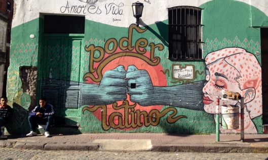Graffiti: San Telmo, Buenos Aries
