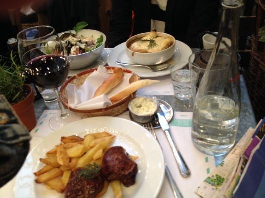 Steak at Dandy, Buenos Aires