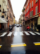 Streets in Parma
