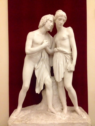 Daphne and Chloe by Ulisse Cambi. Their story and the statue both intriguing!