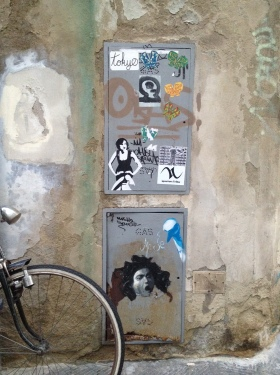 Street arts in Florence
