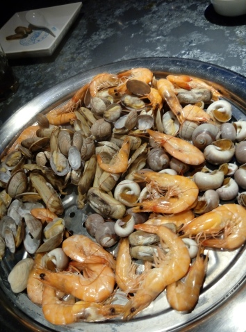 Seafood in Hangzhou