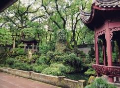 天一阁图书楼对面园 The garden opposite to the Tianyige Library building