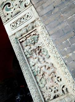 Intricate details on the gate. The North Tomb 北陵公园