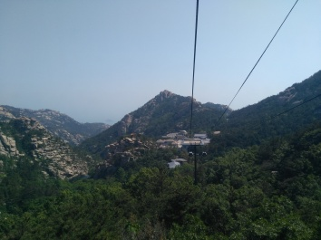 Cable car to Laoshan
