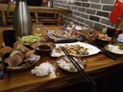 A seafood place by the Zhongshan road